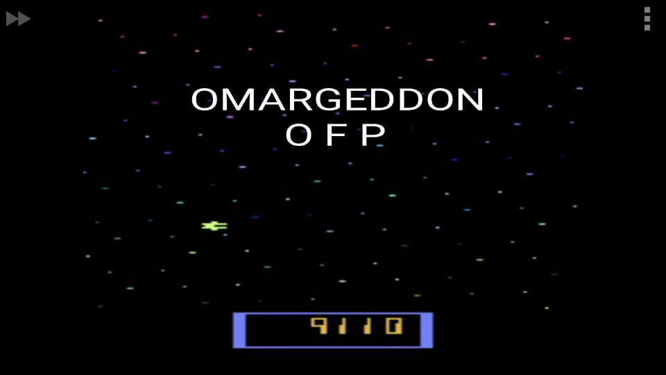 omargeddon: Cosmic Ark (Atari 2600 Emulated Expert/A Mode) 9,110 points on 2016-12-08 22:40:13
