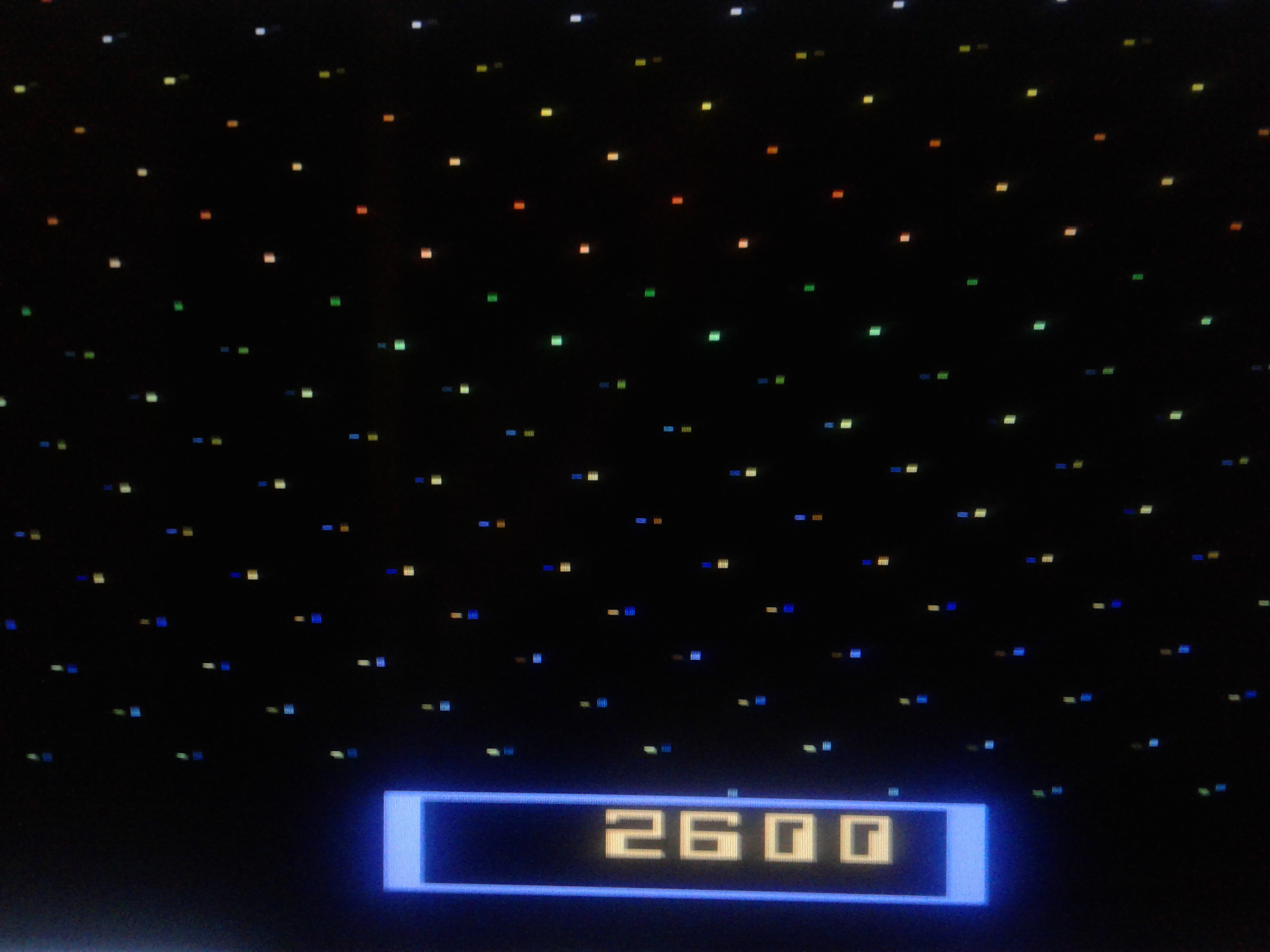 Mark: Cosmic Ark (Atari 2600 Emulated Expert/A Mode) 2,600 points on 2019-02-20 23:10:16
