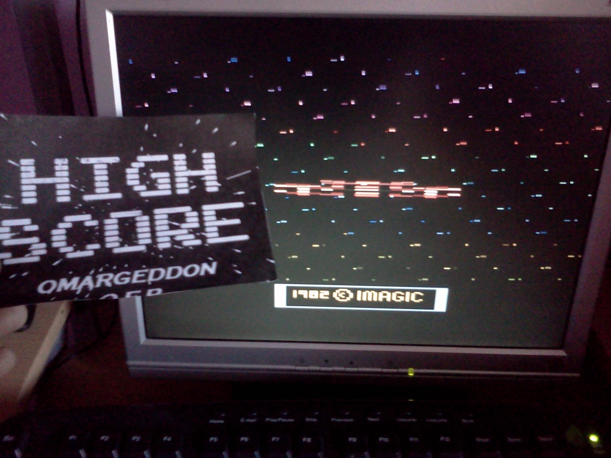 omargeddon: Cosmic Ark (Atari 2600 Emulated Novice/B Mode) 10,810 points on 2016-08-09 11:30:01