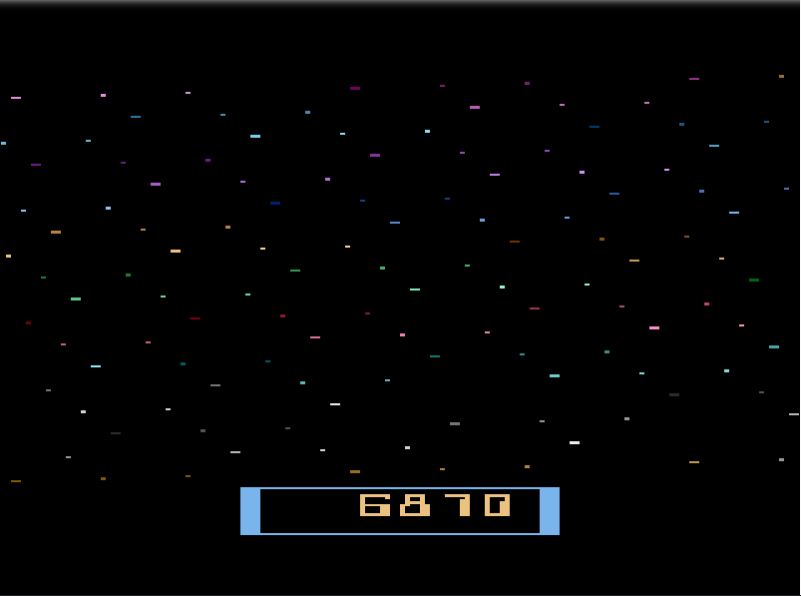 alpha: Cosmic Ark (Atari 2600 Emulated Novice/B Mode) 6,870 points on 2020-08-21 16:52:11