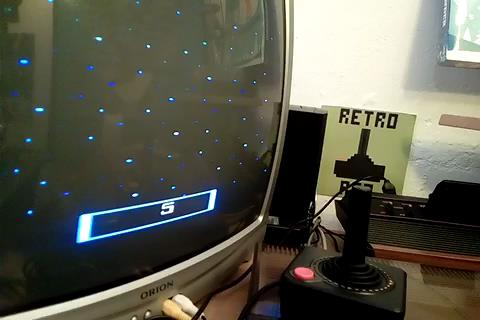 RetroRob: Cosmic Ark [Game 5] (Atari 2600 Novice/B) 1,204 points on 2019-05-05 14:23:30