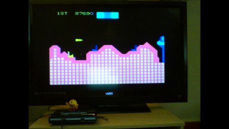 DuggerVideoGames: Cosmic Avenger (Colecovision Flashback) 87,690 points on 2016-08-08 15:55:16