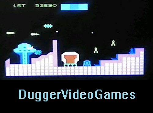 DuggerVideoGames: Cosmic Avenger (Colecovision) 53,690 points on 2016-03-25 15:37:02