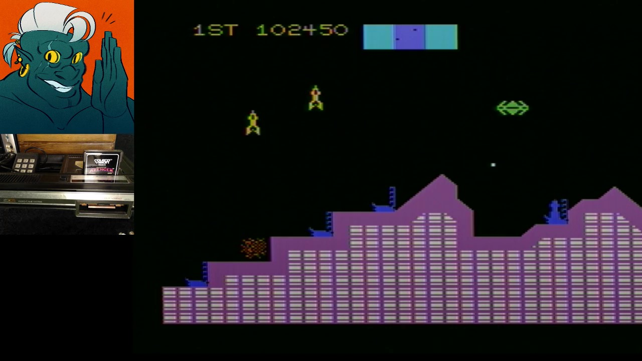 AwesomeOgre: Cosmic Avenger (Colecovision) 102,450 points on 2019-02-13 22:04:08