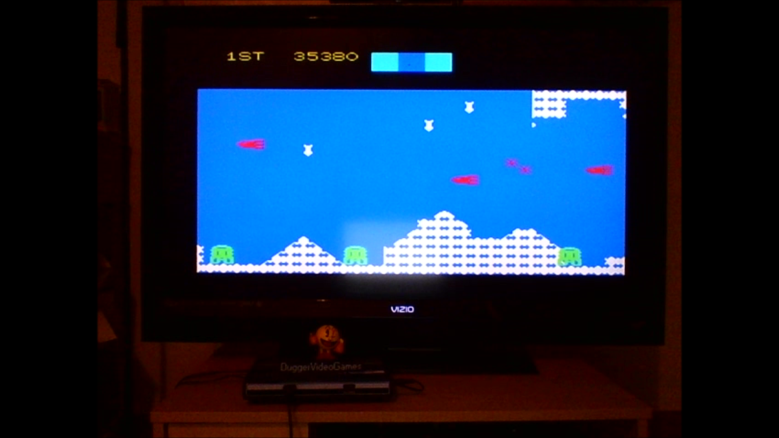 DuggerVideoGames: Cosmic Avenger: Skill 4 (Colecovision Emulated) 35,380 points on 2016-08-14 21:23:24