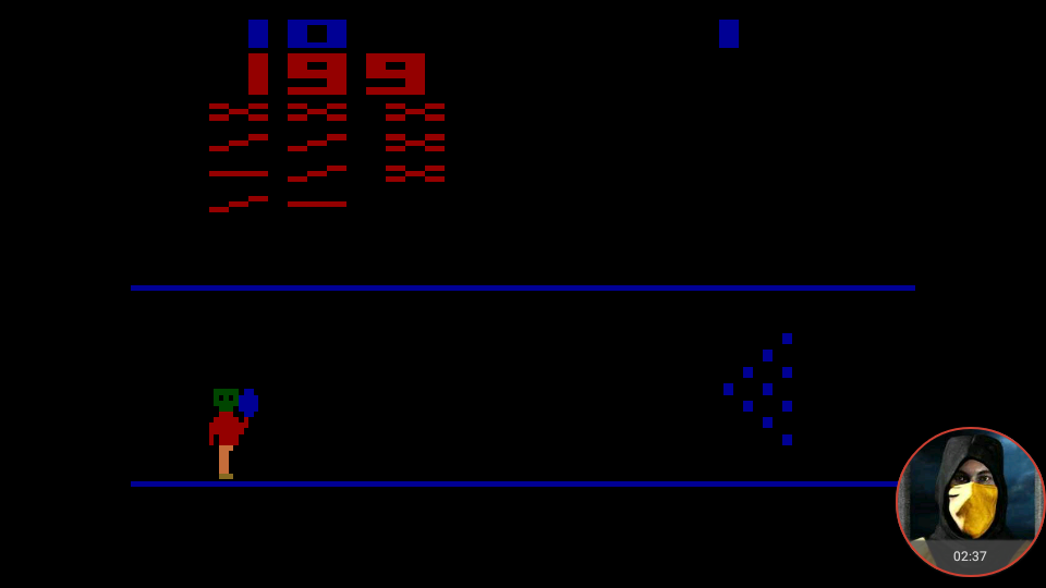 omargeddon: Cosmic Bowling (Atari 2600 Emulated Expert/A Mode) 199 points on 2018-05-31 19:17:01