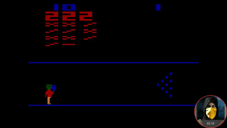 omargeddon: Cosmic Bowling (Atari 2600 Emulated Novice/B Mode) 222 points on 2018-02-19 10:46:31