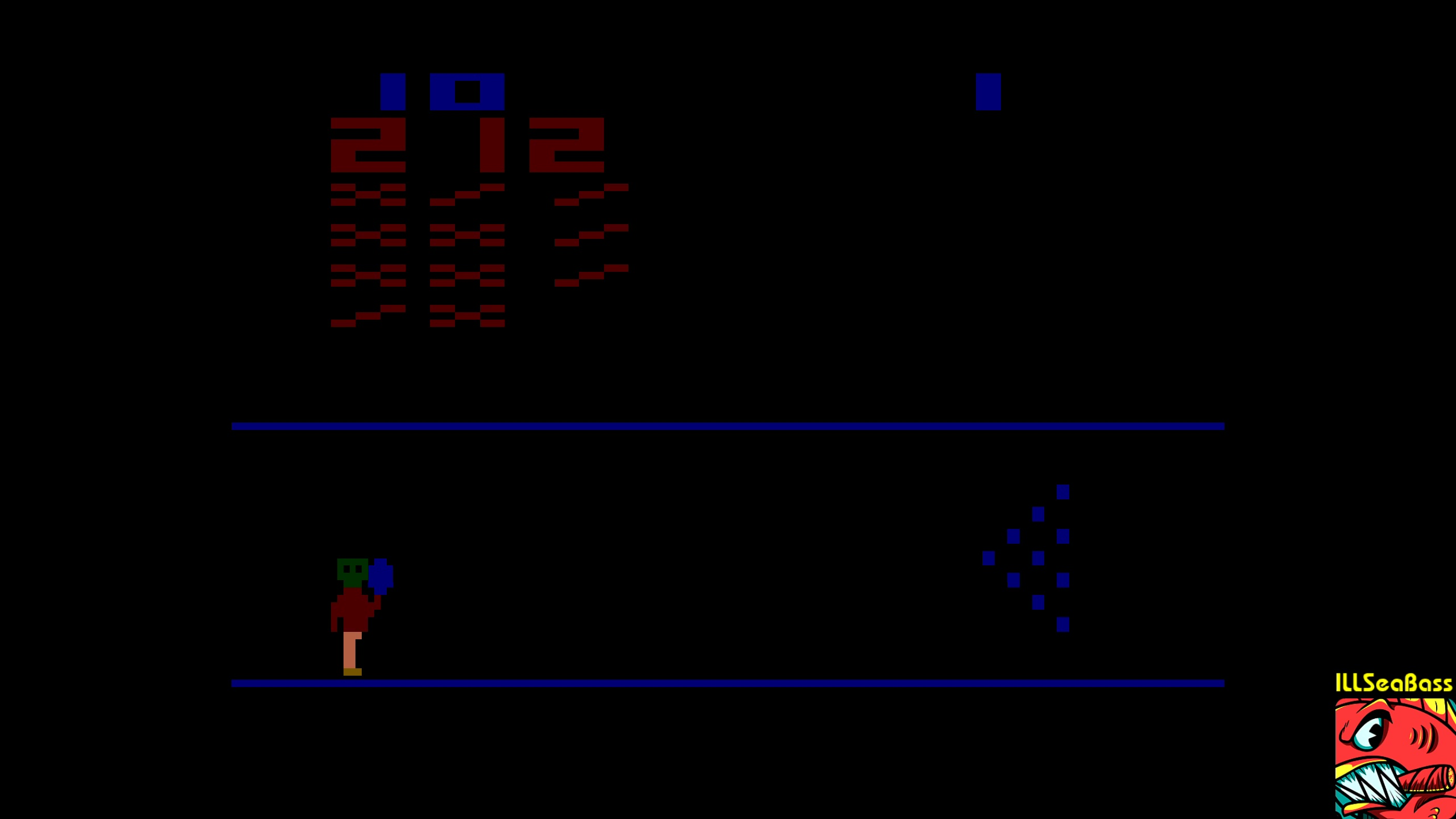 ILLSeaBass: Cosmic Bowling (Atari 2600 Emulated Novice/B Mode) 212 points on 2018-02-19 16:55:44