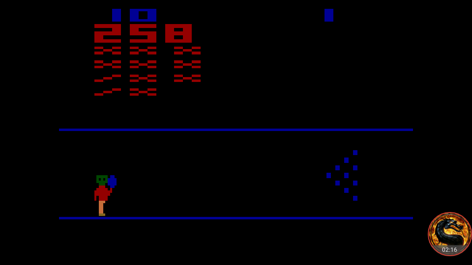 omargeddon: Cosmic Bowling (Atari 2600 Emulated Novice/B Mode) 258 points on 2018-09-25 23:46:44
