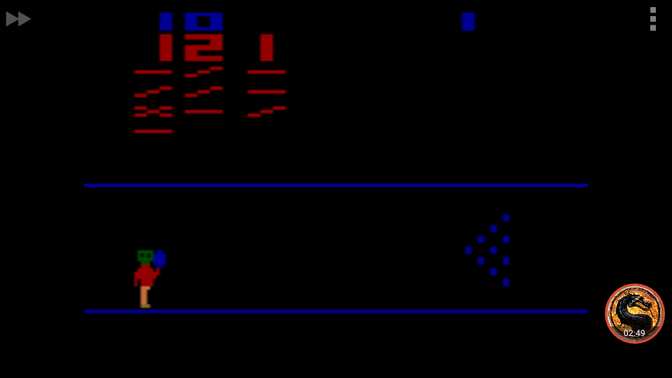 omargeddon: Cosmic Bowling: Game 3 (Atari 2600 Emulated Expert/A Mode) 121 points on 2018-12-24 14:19:03