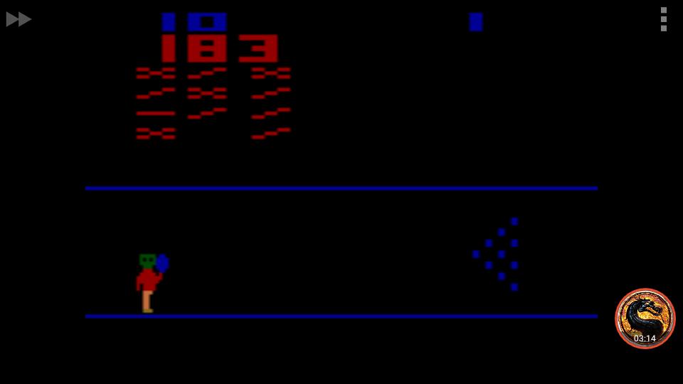 omargeddon: Cosmic Bowling: Game 3 (Atari 2600 Emulated Novice/B Mode) 183 points on 2018-12-24 14:43:44