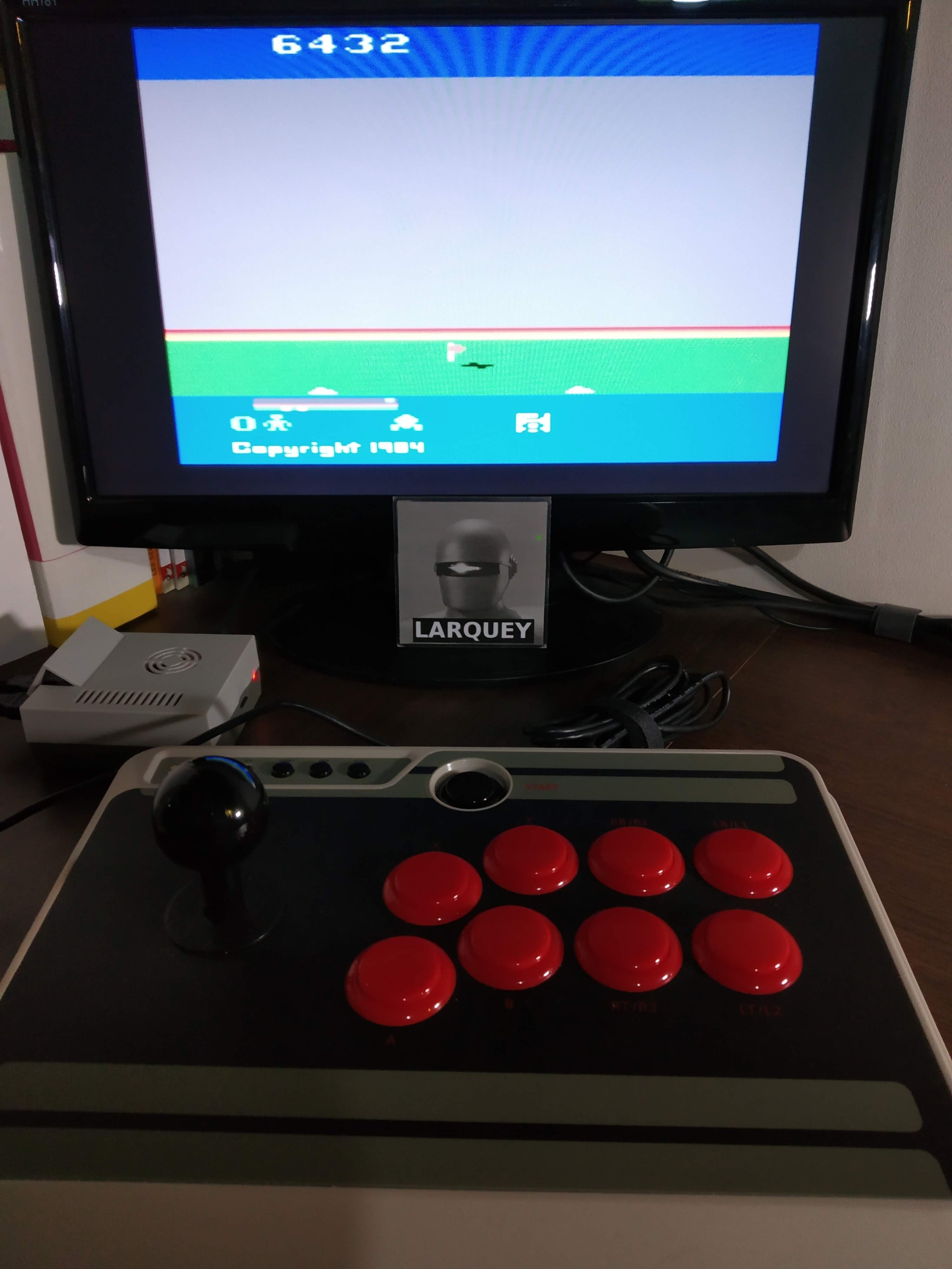 Larquey: Cosmic Commuter  (Atari 2600 Emulated) 6,432 points on 2019-11-30 13:16:48