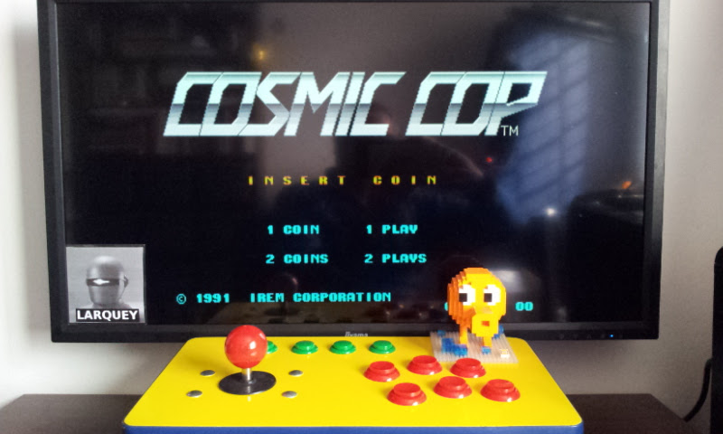 Larquey: Cosmic Cop [World] [cosmccop] (Arcade Emulated / M.A.M.E.) 113,170 points on 2017-02-18 08:56:44
