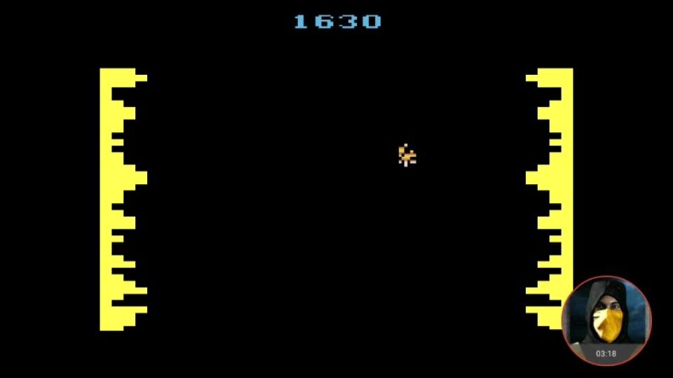 omargeddon: Cosmic Corridor (Atari 2600 Emulated Novice/B Mode) 1,630 points on 2018-02-20 23:54:24