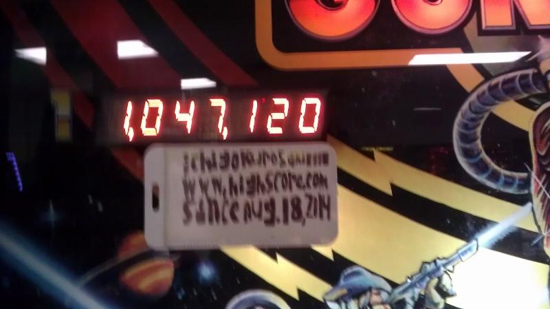 Cosmic Gunfight 1,047,120 points