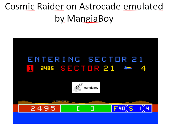 Cosmic Raiders [Intensity 0] 2,495 points