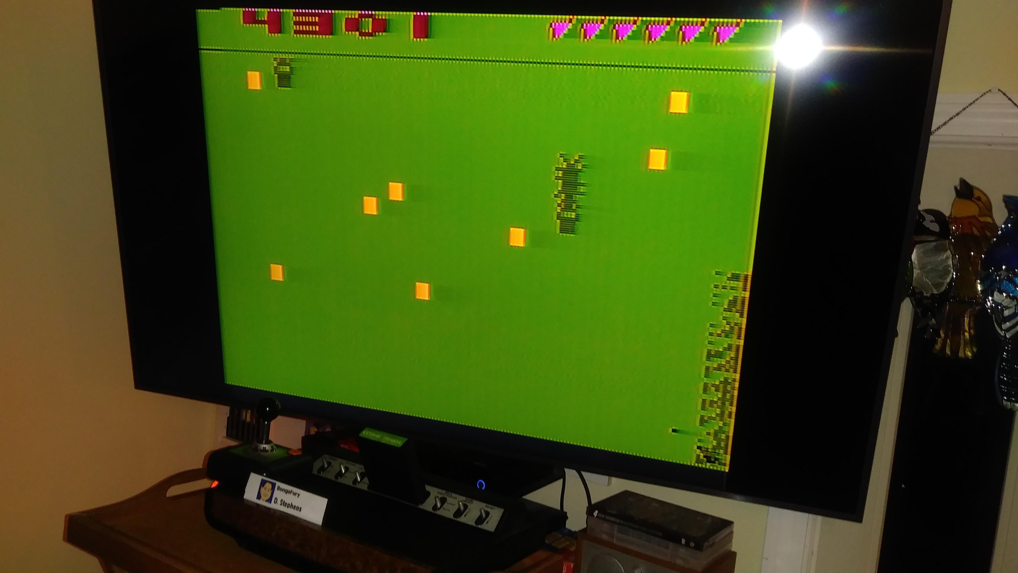BongoFury: Cosmic Swarm (Atari 2600 Novice/B) 4,301 points on 2019-11-07 18:45:44