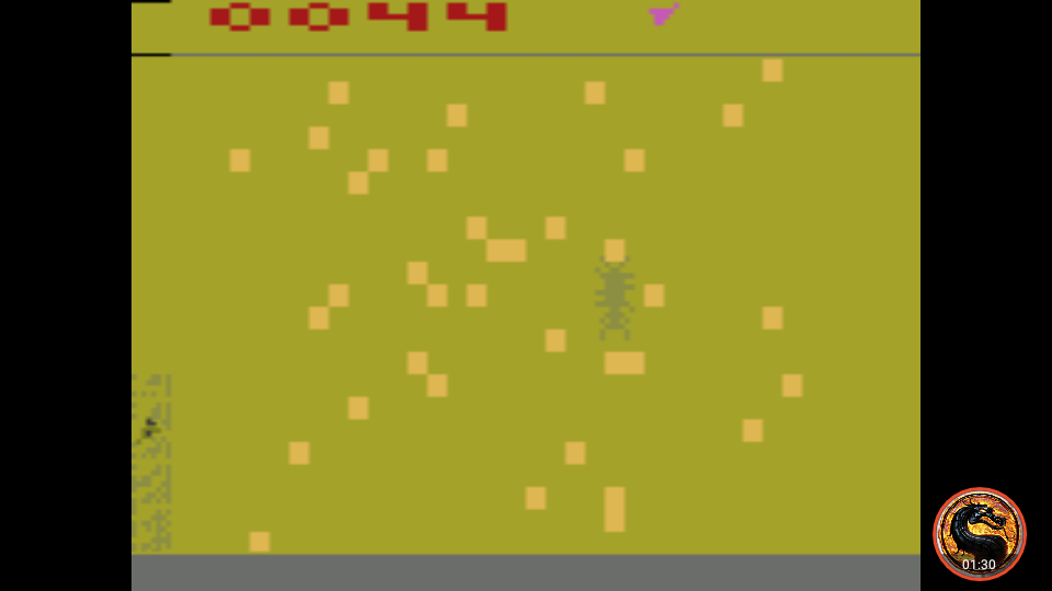 omargeddon: Cosmic Swarm (Atari 2600 Emulated Expert/A Mode) 44 points on 2019-10-25 20:59:31