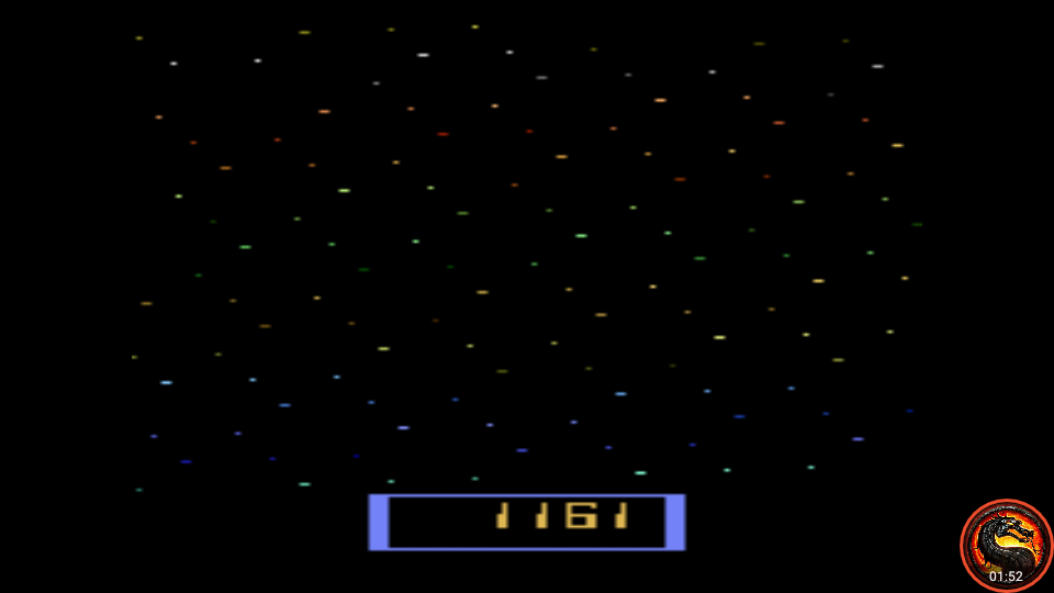 omargeddon: Cosmik Ark [Game 2] (Atari 2600 Emulated Expert/A Mode) 1,161 points on 2020-05-31 00:53:56