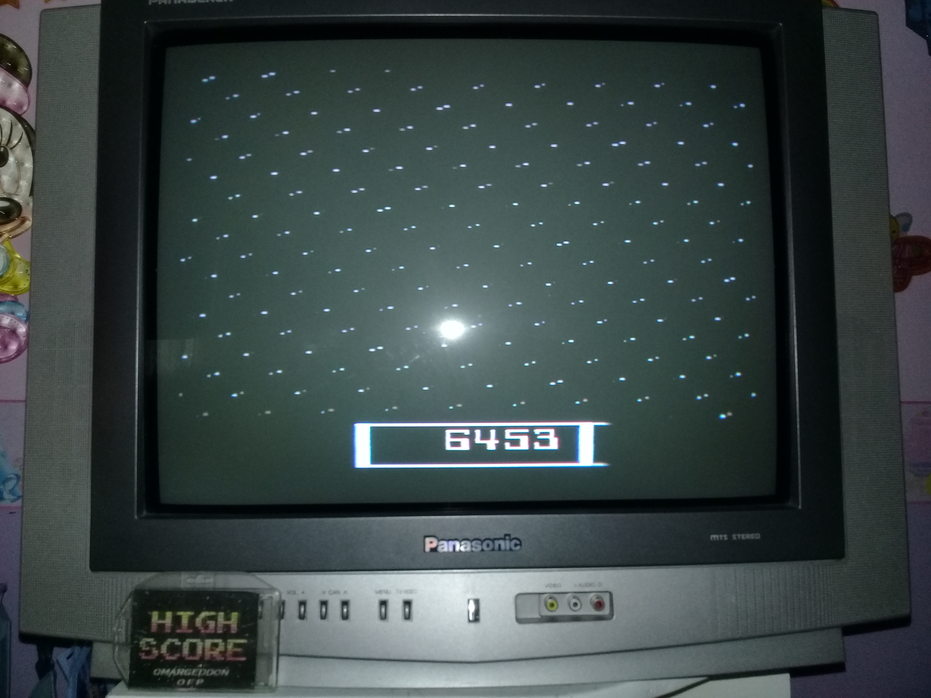 omargeddon: Cosmik Ark [Game 4] (Atari 2600 Novice/B) 6,453 points on 2019-06-04 15:23:51