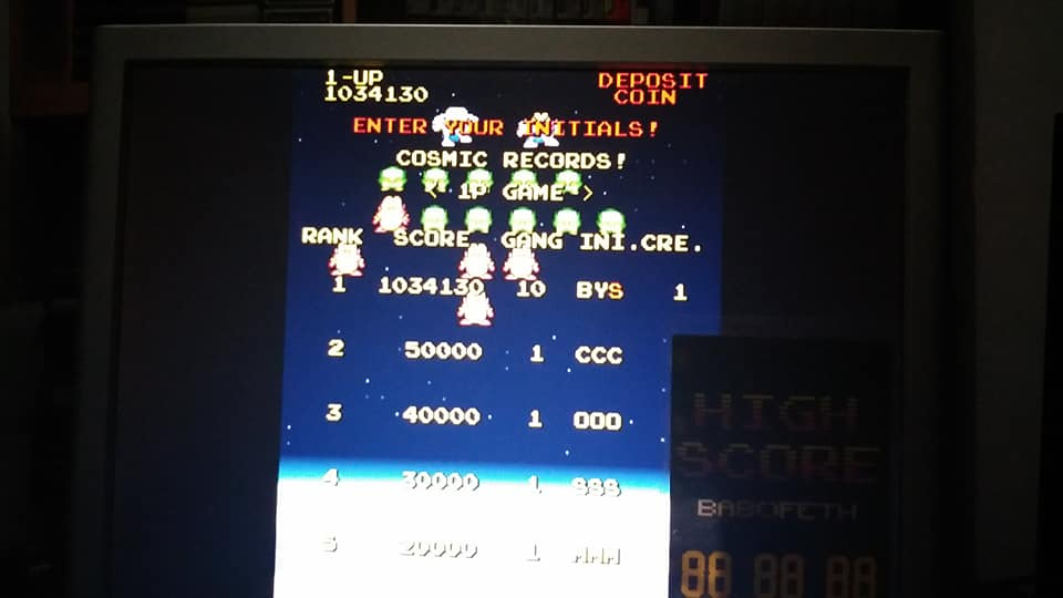 BabofetH: Cosmo Gang the Video [cosmogng] (Arcade Emulated / M.A.M.E.) 1,034,130 points on 2020-08-15 21:03:17