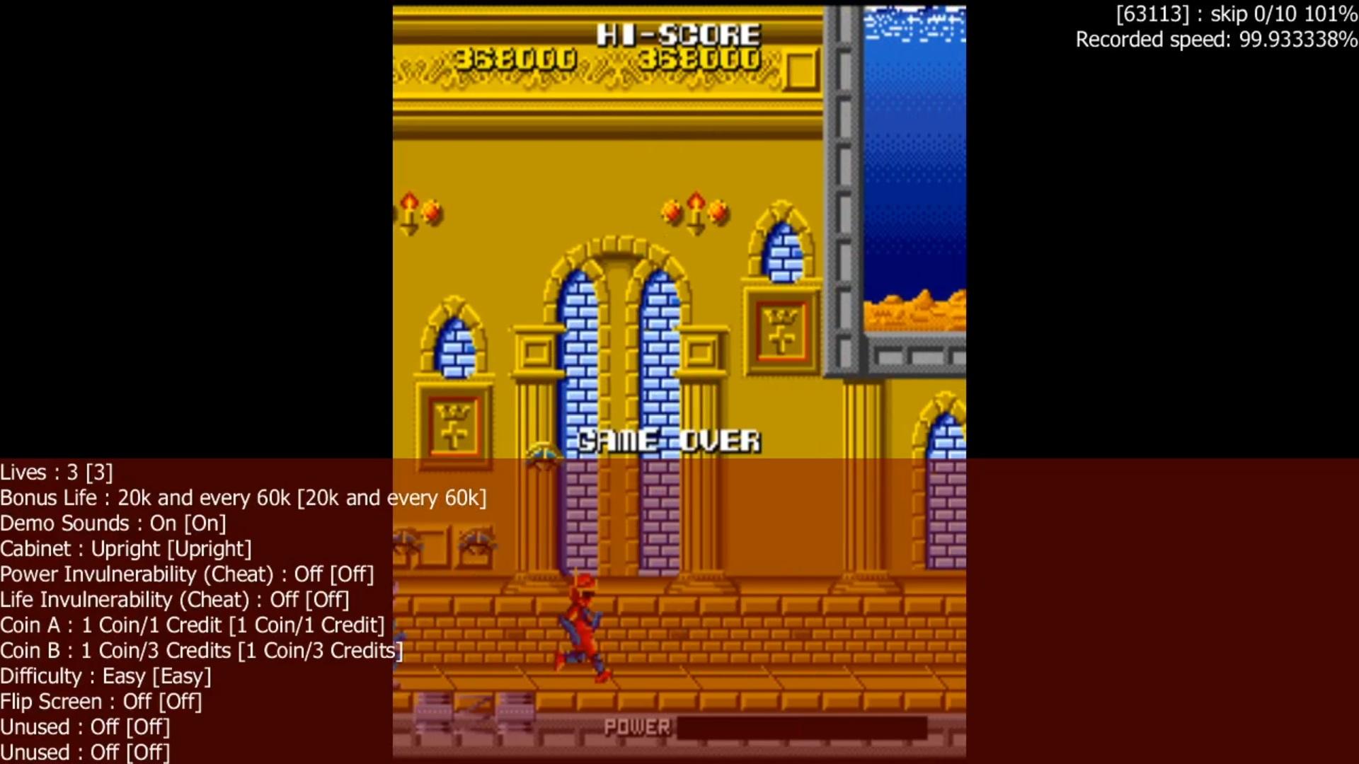 LuigiRuffolo: Cosmo Police Galivan [galivan] (Arcade Emulated / M.A.M.E.) 368,000 points on 2020-05-22 09:06:41