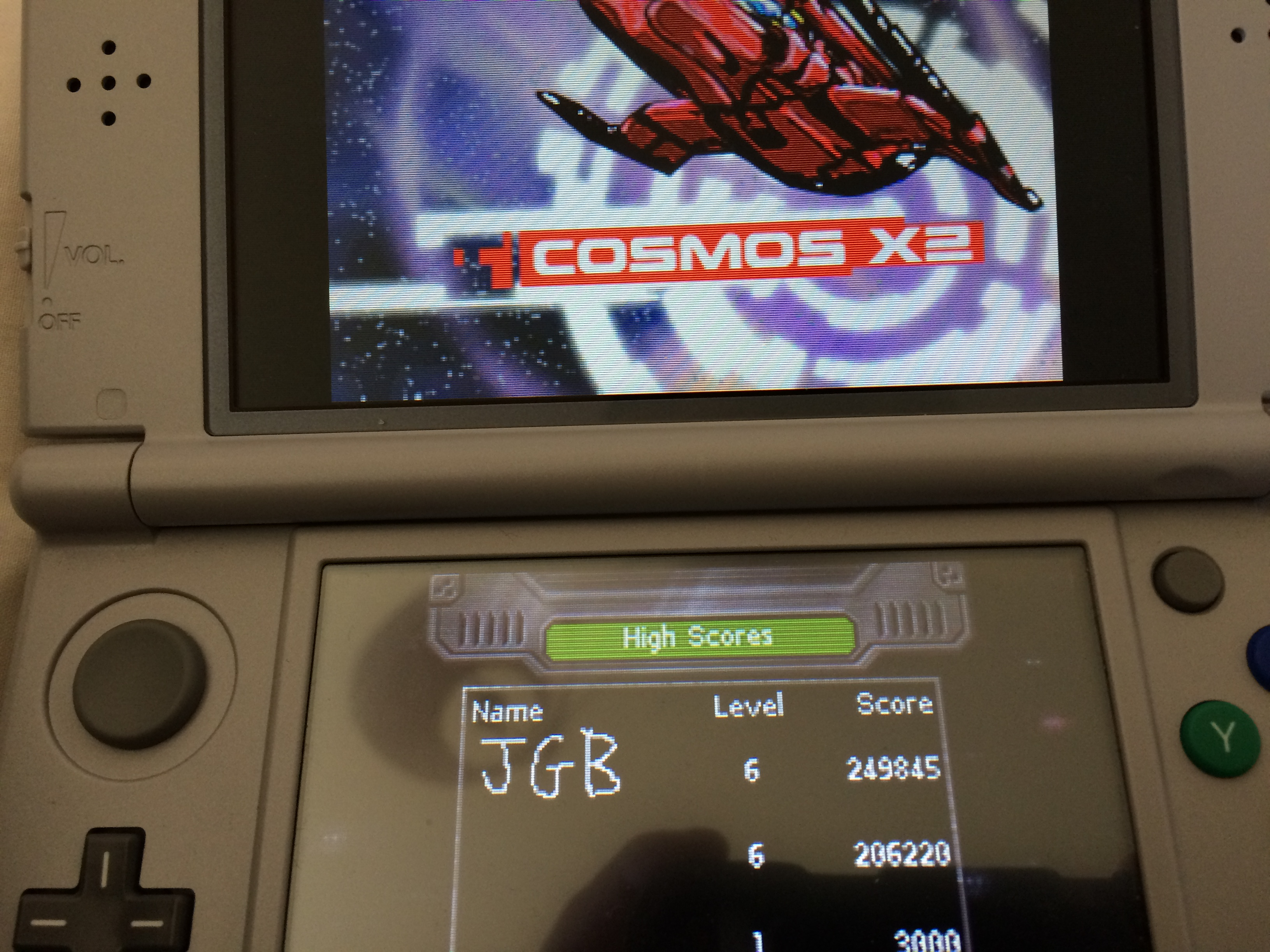 JBoorman: Cosmos X2 [Normal] (Nintendo DS) 249,845 points on 2018-02-17 05:40:05