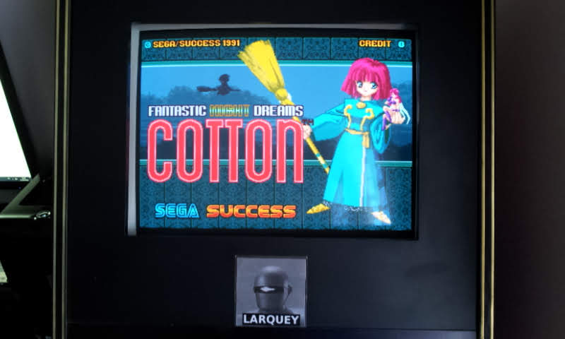 Larquey: Cotton: Fantastic Night Dreams (Arcade Emulated / M.A.M.E.) 51,920 points on 2018-05-21 05:12:27
