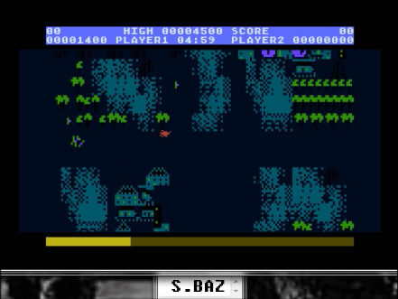S.BAZ: Countermeasure: Skill 6 (Atari 5200 Emulated) 1,400 points on 2016-04-27 00:52:12