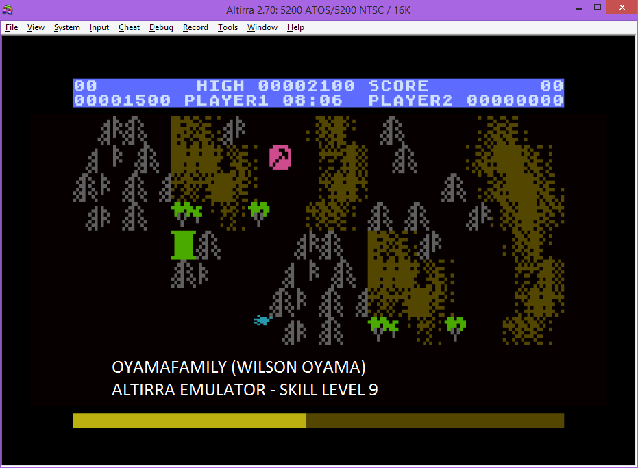 oyamafamily: Countermeasure: Skill 9 (Atari 5200 Emulated) 1,500 points on 2016-04-24 11:51:02