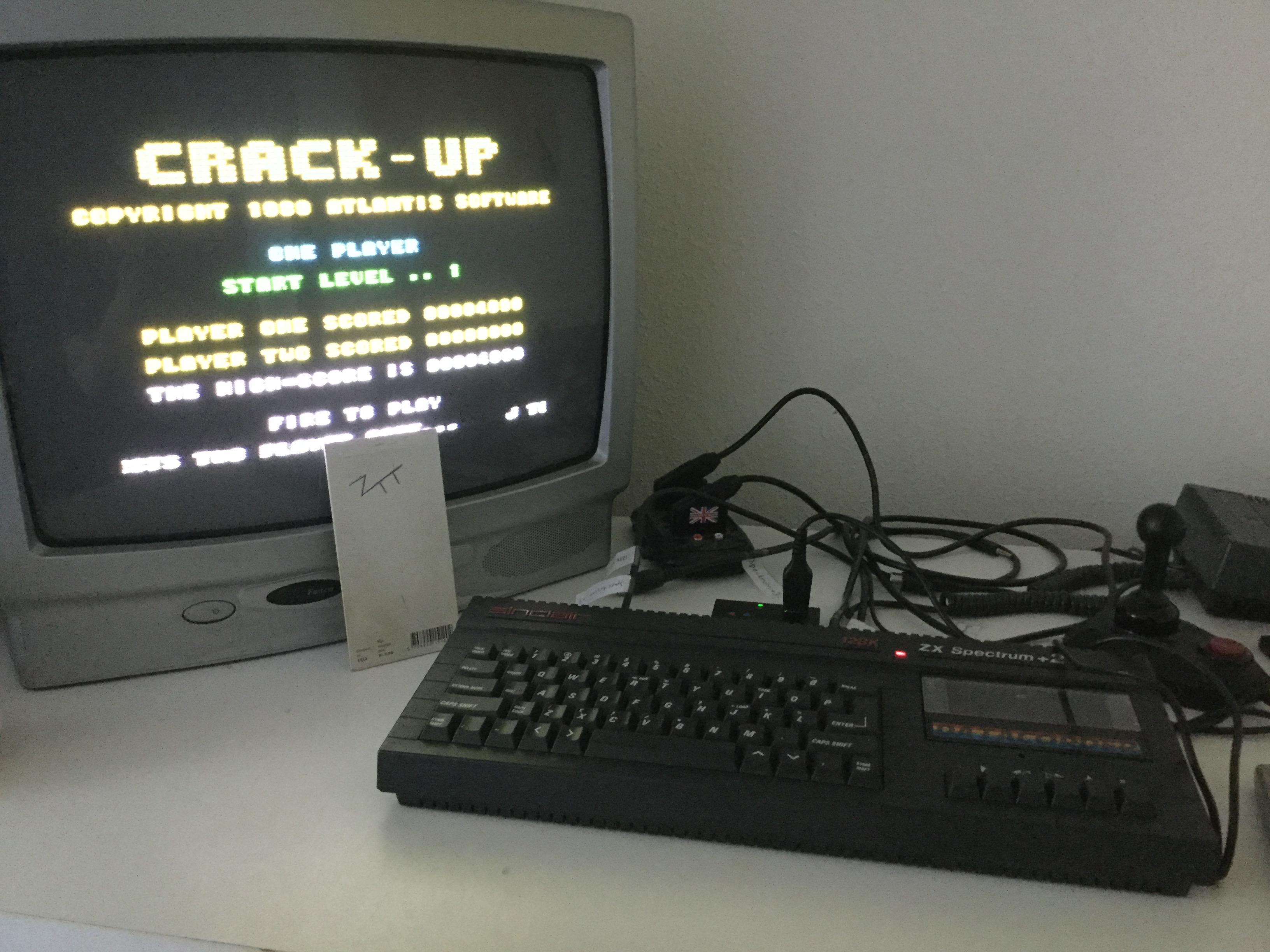 Frankie: Crack-Up (ZX Spectrum) 4,090 points on 2019-05-14 14:22:29