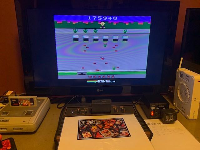 nads: Crackpots (Atari 2600) 175,940 points on 2020-11-09 12:21:34