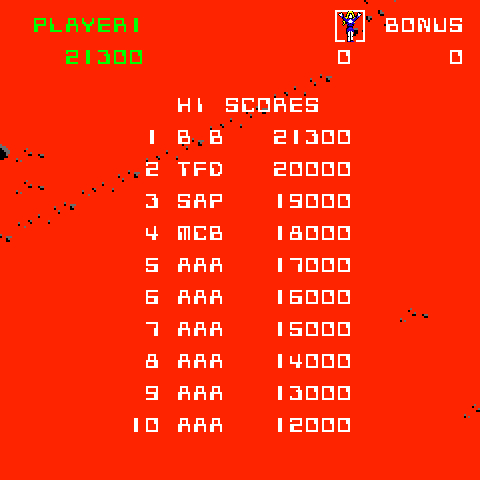 BarryBloso: Crater Raider [crater] (Arcade Emulated / M.A.M.E.) 21,300 points on 2015-06-19 07:01:28