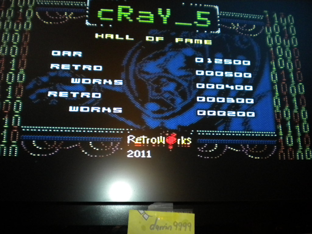 Cray 5 [10,000 Points Completion Bonus] 12,500 points
