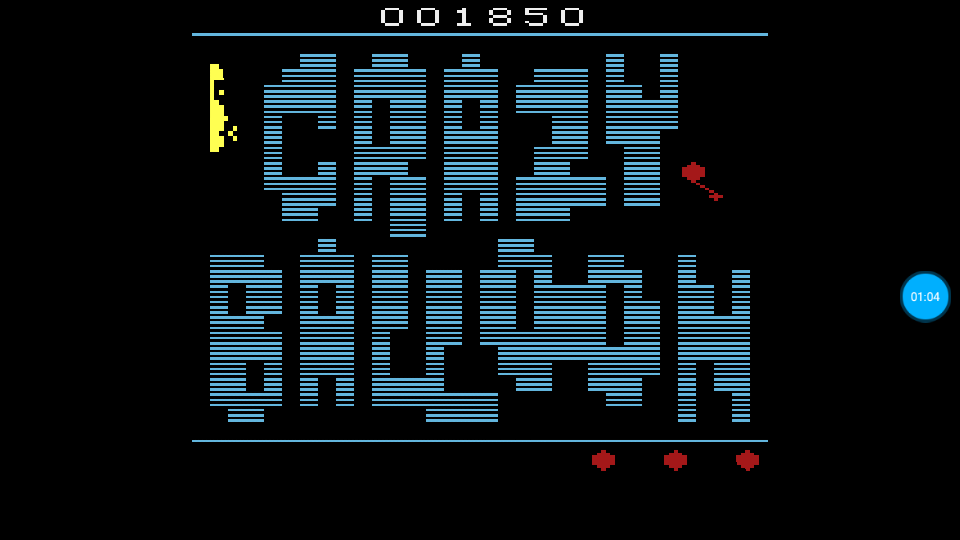 omargeddon: Crazy Balloon (Atari 2600 Emulated Expert/A Mode) 1,850 points on 2018-07-10 23:43:40