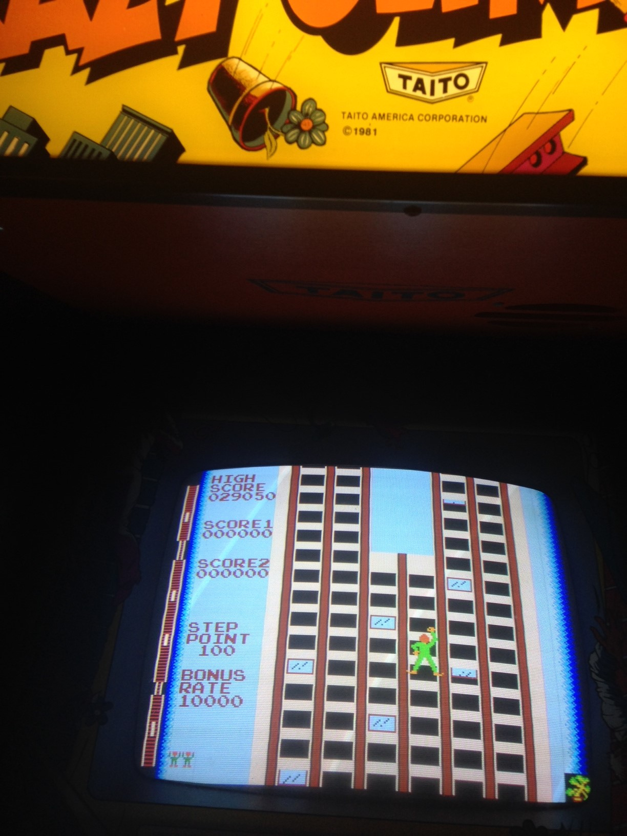 euphonium: Crazy Climber (Arcade) 29,050 points on 2017-06-14 07:50:29