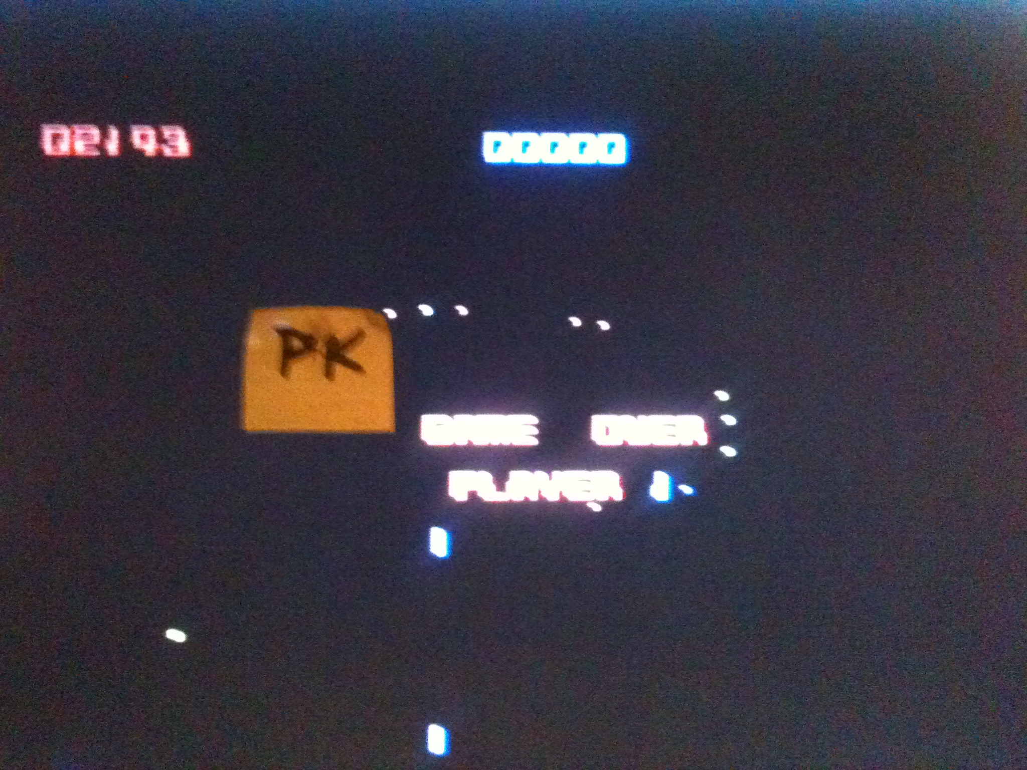 kernzy: Crazy Comets (Commodore 64) 2,143 points on 2015-12-13 15:24:35