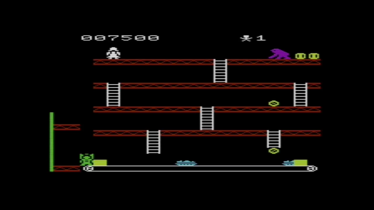 GTibel: Crazy Kong (Commodore VIC-20 Emulated) 7,500 points on 2017-05-28 04:16:19