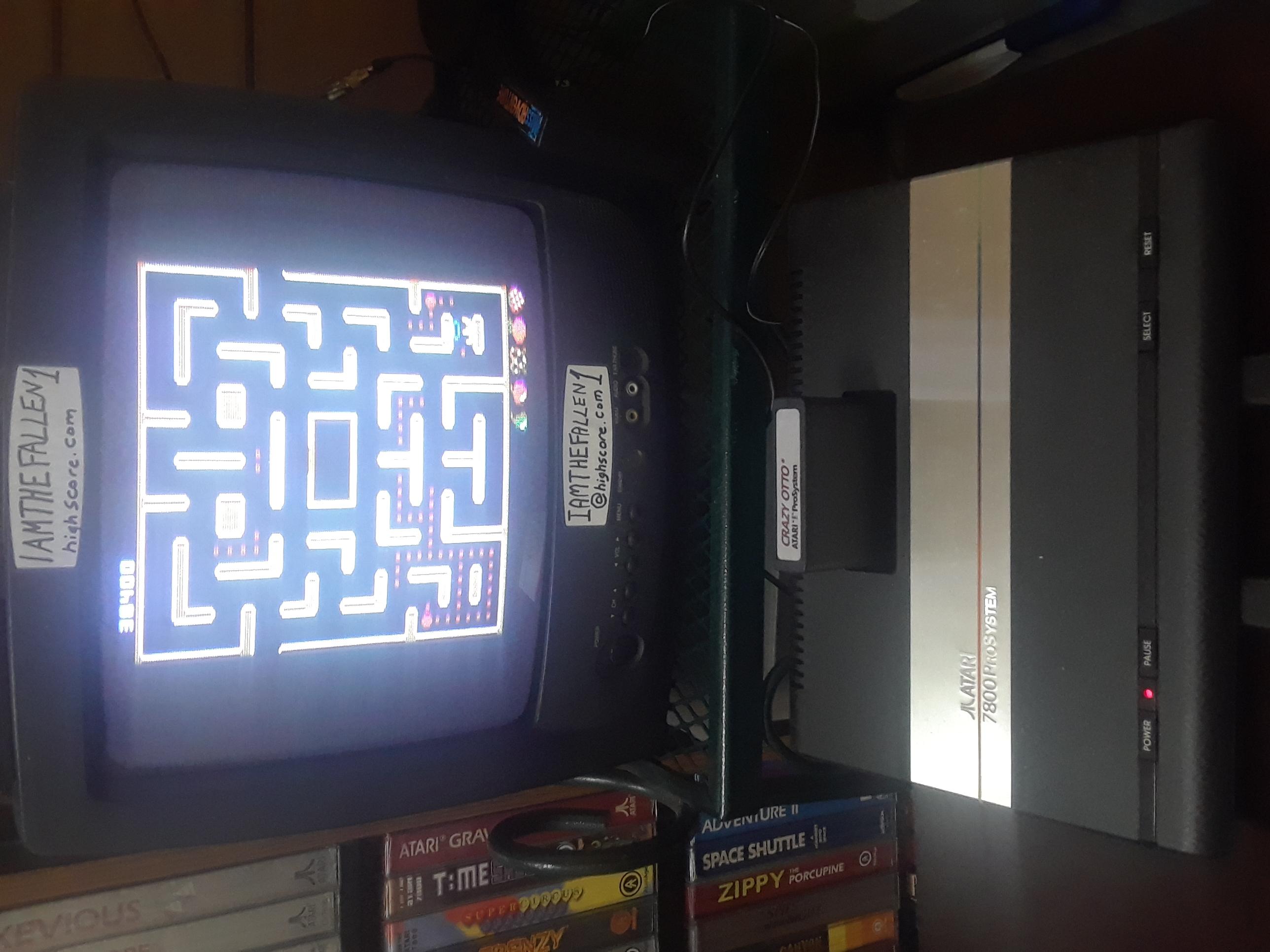 iamthefallen1: Crazy Otto [Strawberry Start] (Atari 7800) 38,400 points on 2018-10-18 22:28:22