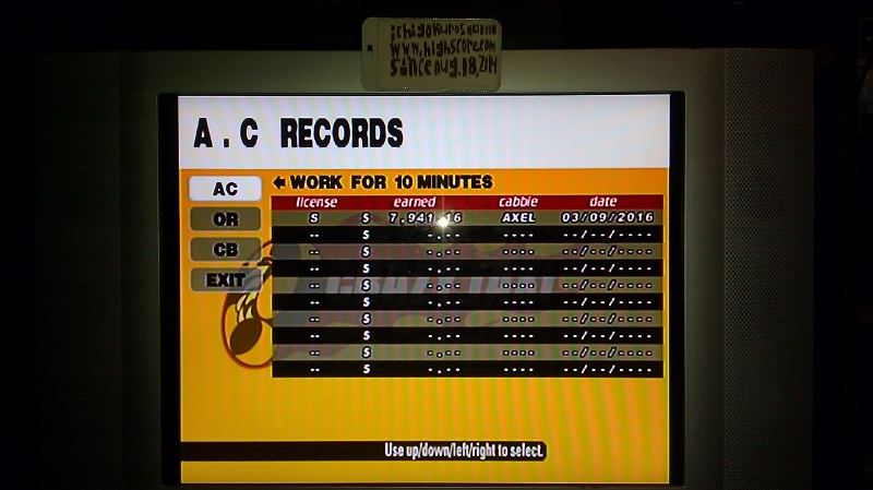 Crazy Taxi [Arcade/10 Minutes] 7,941 points