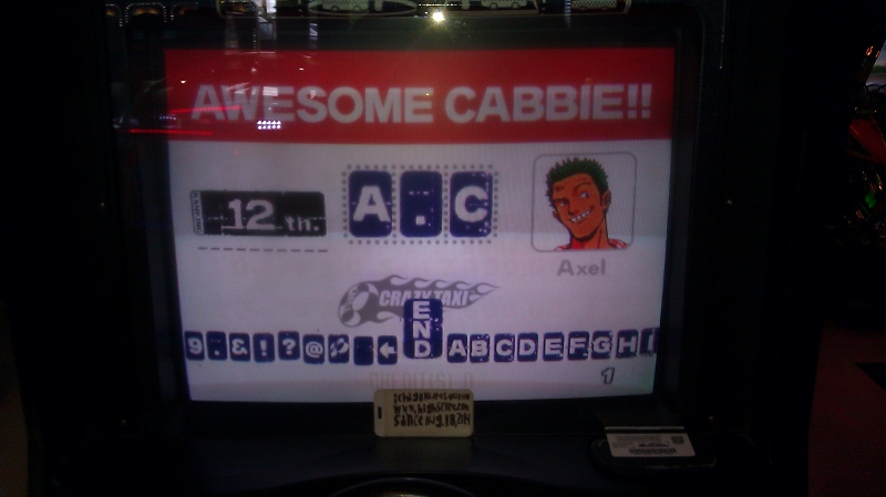 ichigokurosaki1991: Crazy Taxi (Arcade) 6,678 points on 2016-06-16 01:42:20