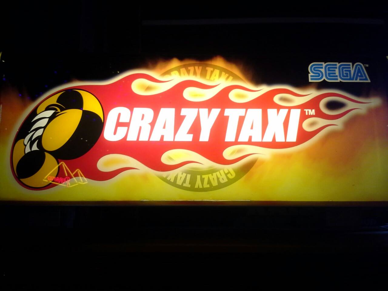 Crazy Taxi 723 points