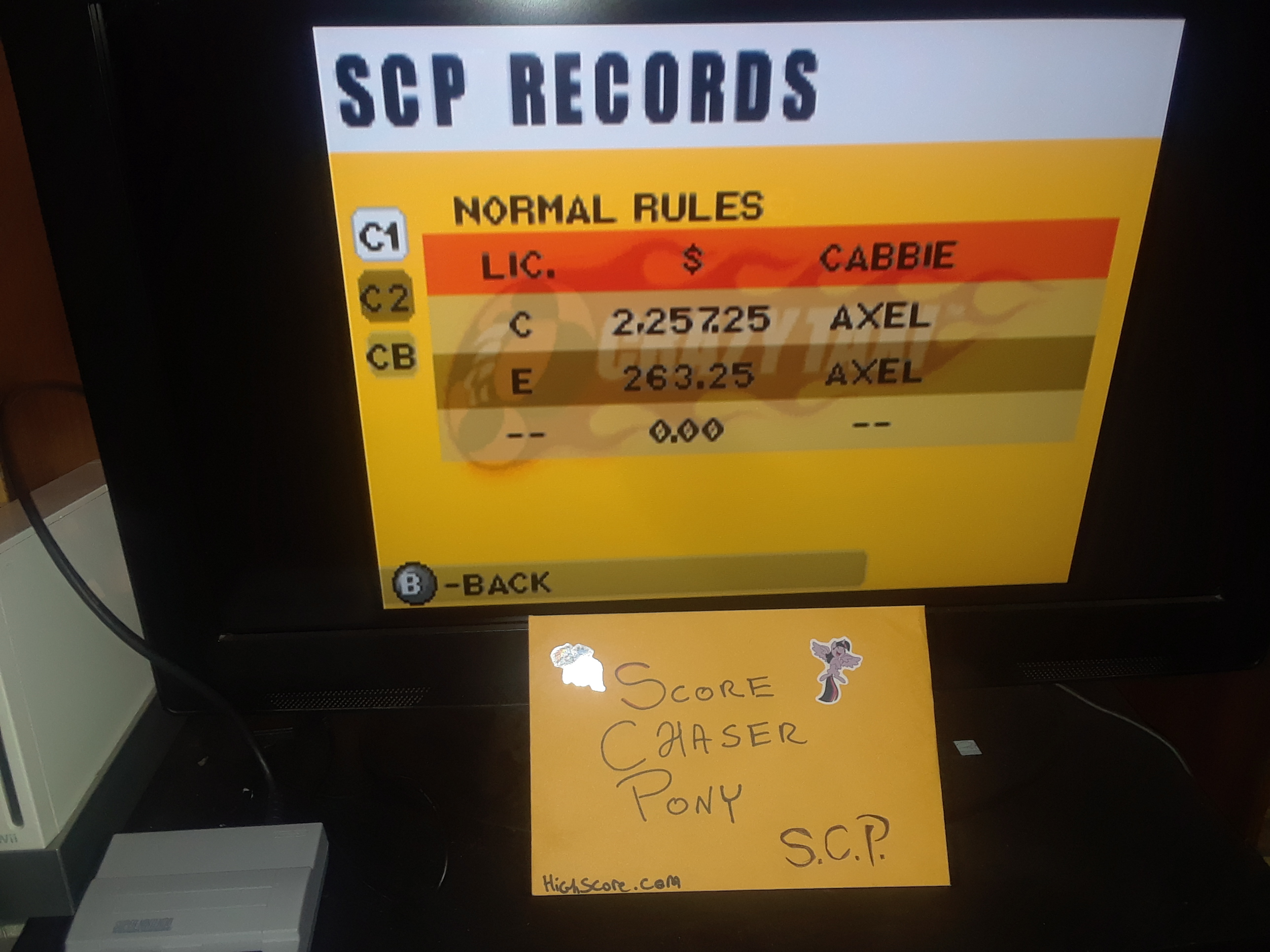 Crazy Taxi: Catch a Ride [Normal Rules] 2,257 points