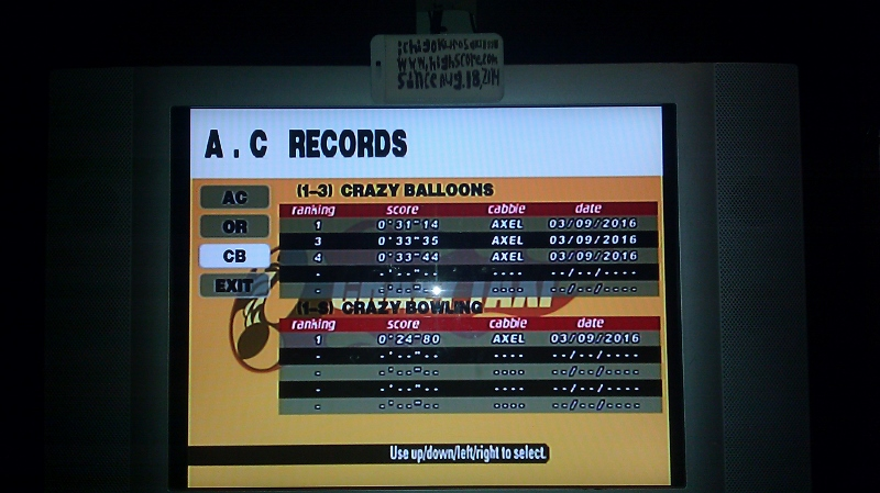 ichigokurosaki1991: Crazy Taxi: Crazy Box: 1-S: Crazy Bowling (Dreamcast) 0:00:24.8 points on 2016-05-18 23:36:52