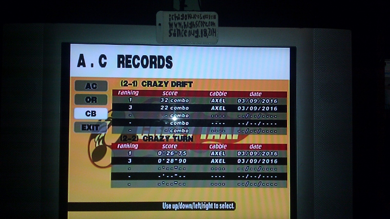Crazy Taxi: Crazy Box 2-2: Crazy Turn time of 0:00:26.75