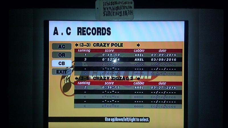 Crazy Taxi: Crazy Box 3-3: Crazy Pole time of 0:00:49.5