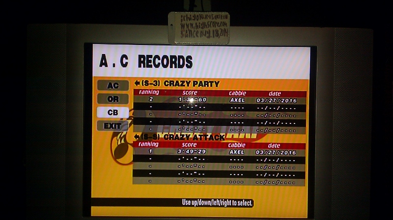 Crazy Taxi: Crazy Box: S-3: Crazy Party time of 0:01:31.6