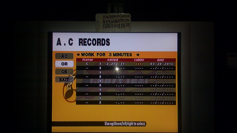 ichigokurosaki1991: Crazy Taxi: Original: 3 Minutes (Dreamcast) 2,272 points on 2016-05-18 23:30:30
