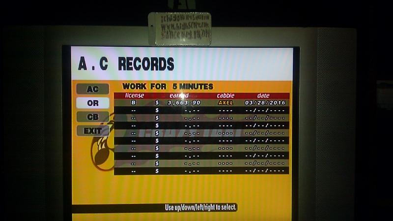 Crazy Taxi: Original: 5 Minutes 3,663 points