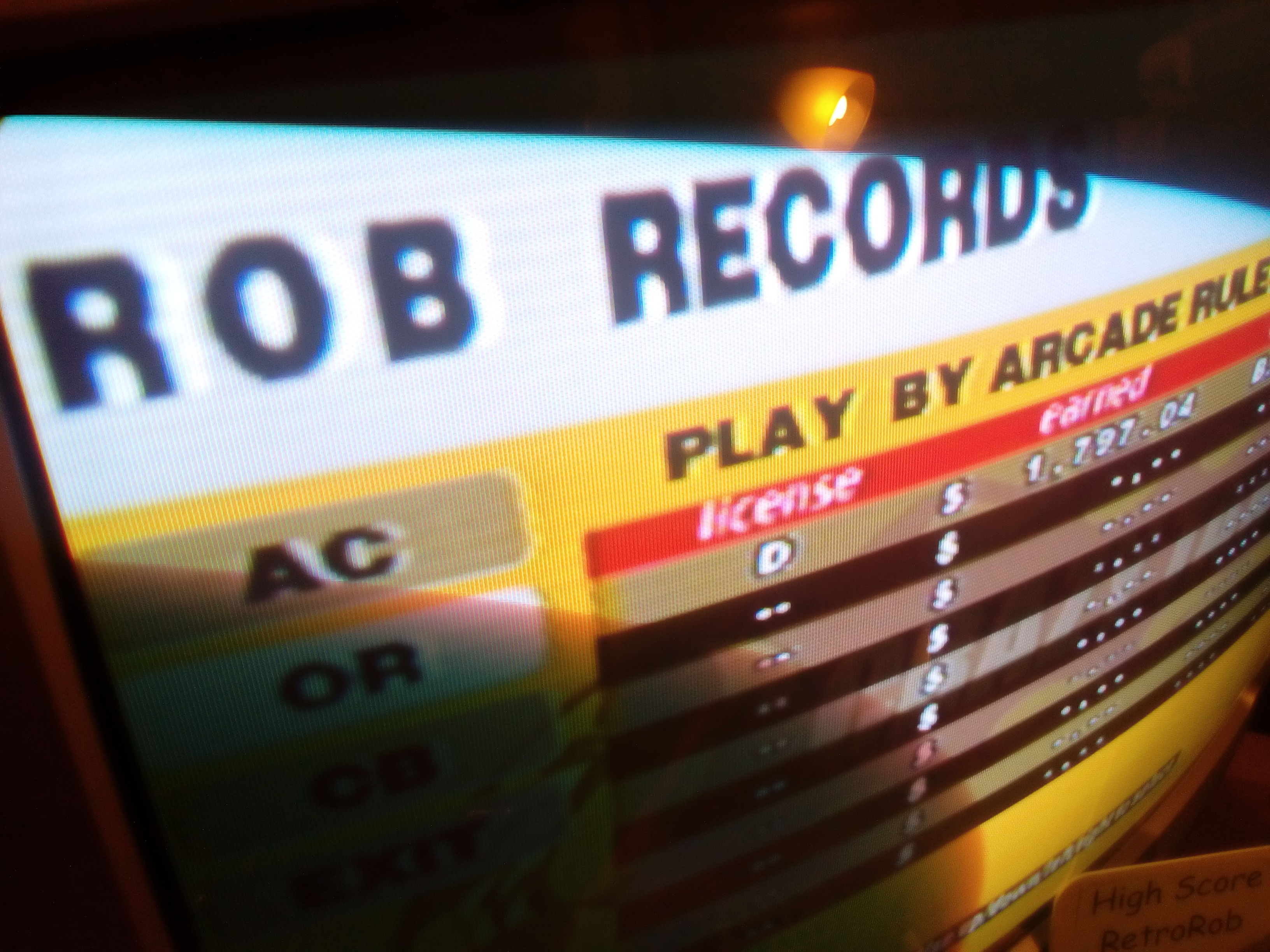 RetroRob: Crazy Taxi: Original: Arcade Rules (Dreamcast) 1,797 points on 2018-08-10 13:26:53